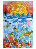 Fish Premium Giclee Print by Kaeli Smith