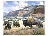 Goodnight's Legacy Reproduction procédé giclée par Jack Sorenson