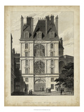 Fontainbleau, Porte Doree Posters by A. Pugin