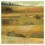 Field Scape I Premium Giclee Print by Victor Valla
