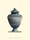Blue Porcelain Urn III Poster