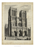 West Front-Notre Dame Giclee Print by A. Pugin