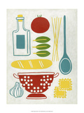 Sunday Dinner Prints by Chariklia Zarris
