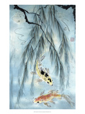 Golden Koi Reproduction proc&#233;d&#233; gicl&#233;e par Nan Rae