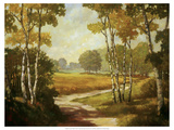 Country Walk I Premium Giclee Print by Graham Reynolds