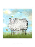 Baa Land Prints by Ingrid Blixt