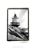 Spring Point Light, Maine I Kunstdruck von Laura Denardo