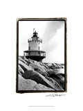 Spring Point Light, Maine I Print by Laura Denardo