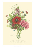Plentiful Bouquet II Print by T.L. Prevost