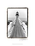 Marshall Point Light, Maine Print by Laura Denardo