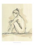 Neutral Figure Study II Plakat af Ethan Harper