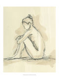Neutral Figure Study II Print by Ethan Harper