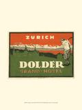 Vintage Travel Label VIII Posters