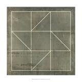Geometric Blueprint IV Posters