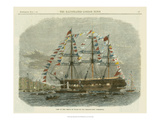 Antique Clipper Ship I Prints