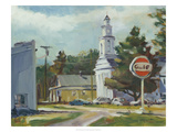 The Old Gulf Station Giclee Print by Stephen Calcasola