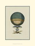 Vintage Ballooning III Print