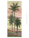 Blush Palms II Poster von Victor Valla