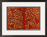 Untitled, 1979 Framed Giclee Print by Keith Haring