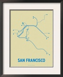 San Francisco Posters by  Line Posters
