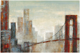 Across the Bridge Giclee Print by Karen Skeritt