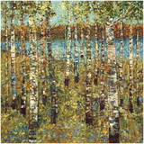 Purple Birch Prints by Carmen Dolce
