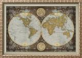 World Map Poster by Elizabeth Medley