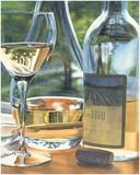 Vin Blanc Art by Cindy Agan