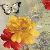 Cottage Yellow Poster by Asia Jensen