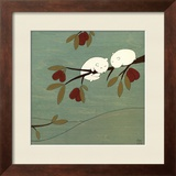 Sugar Plum tree Framed Giclee Print by Kristiana Pärn