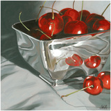 Reflections in Silver Giclee Print by Susan Wilde
