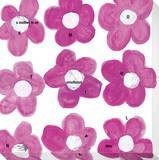 Emotional Ideas (Pink Flowers) Reproducción en lienzo de la lámina por  KOCO