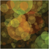 Gold Bubbles Giclee Print by Steve Litvak