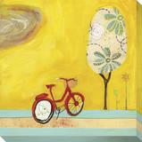 Summer Bike Leinwand von Cathy Nichols
