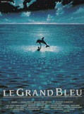 Magická hlubina / Le Grand Bleu, 1988 (filmový plakát ve francouzštině) Masterprint
