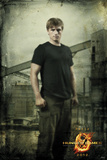 Hunger Games-Peeta in District 12 Affiche