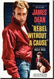 Rebel Without a Cause Reprodukce na plátně