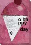 Today Should Always be our Most Wonderful Day (Ice Cream Cone) Reproducción en lienzo de la lámina por KOCO