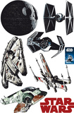 Star Wars Raumschiffe 7 parts Wandtattoo