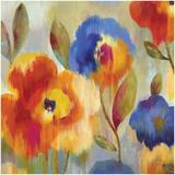 Ikat Florals II Posters by Aimee Wilson