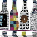 Beer Bottle Collage Leinwand von  KOCO