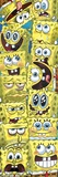 Spongebob-Faces Posters