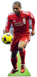 Liverpool FC- Glen Johnson Action Imagen a tamaño natural