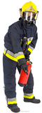 Fireman Imagen a tamao natural