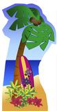 Palm Tree Postacie z kartonu