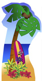 Palm Tree - Stand Figürler