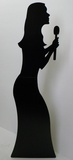 Singer- Silhouette Stand Up