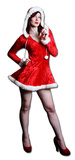 Mrs Christmas-Cut-out Stand Up