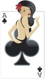 Clubs Babe Cardboard Cutouts