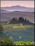 Farmhouse, Val D' Orcia, Tuscany, Italy Mounted Photo by Doug Pearson